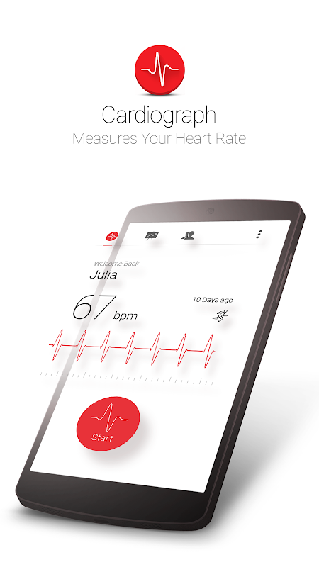 Cardiograph - Heart Rate Meter The App Store