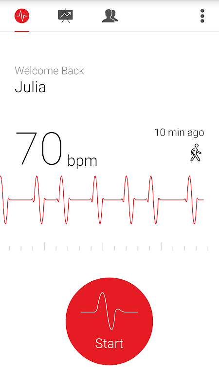 Cardiograph - Heart Rate Meter The App Store android Code Lads