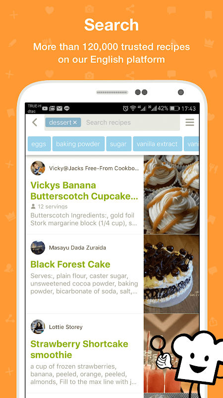 Cookpad - Create your own Recipes The App Store android Code Lads