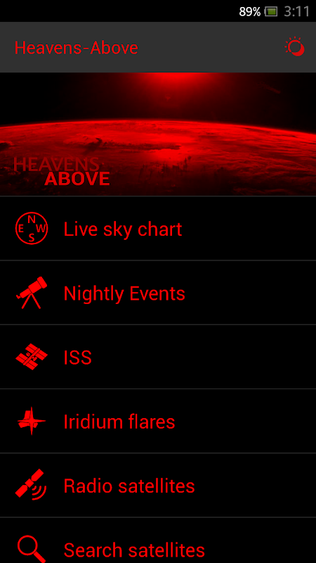 Screenshot Heavens-Above Pro APK