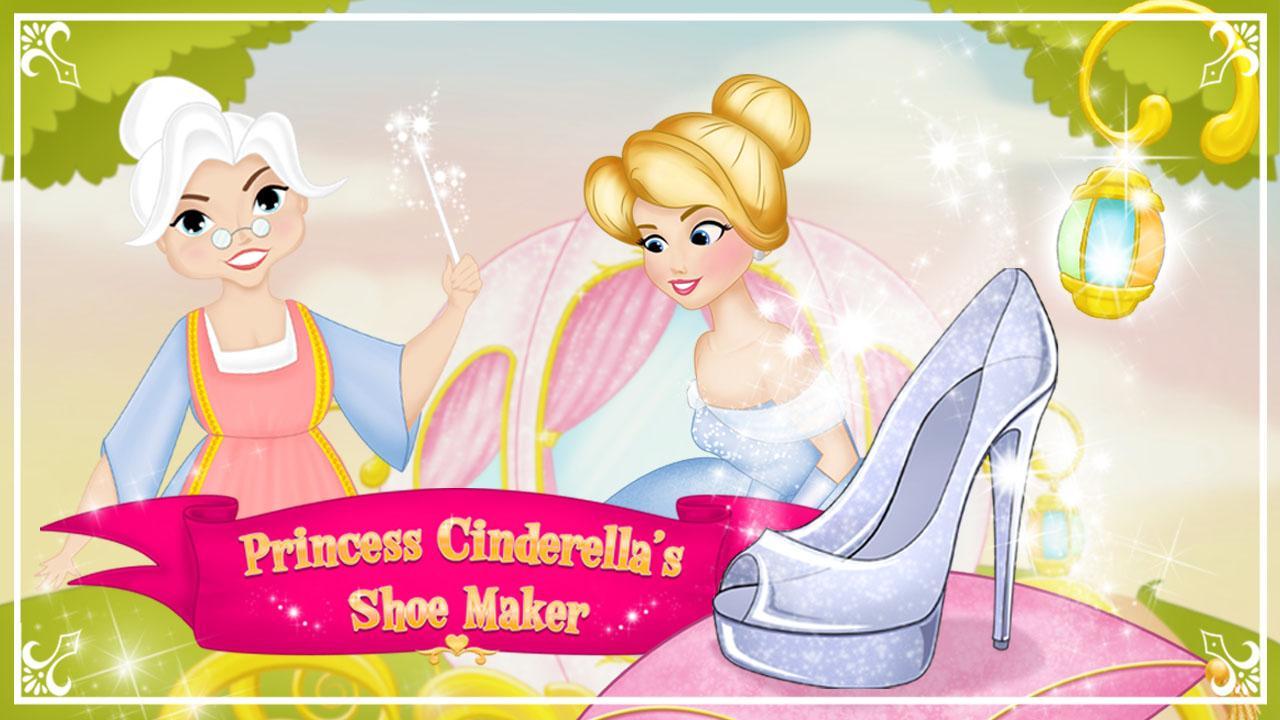 Screenshot Princess Cinderella Shoe Maker APK