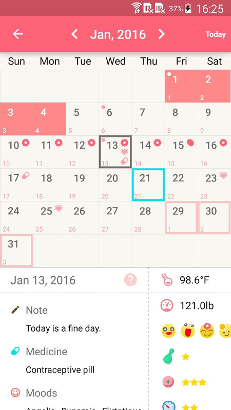 Period Calendar Pro The App Store