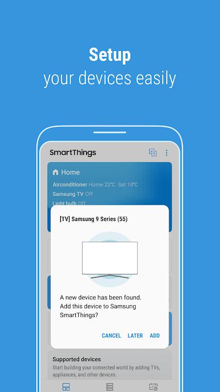 Screenshot SmartThings APK