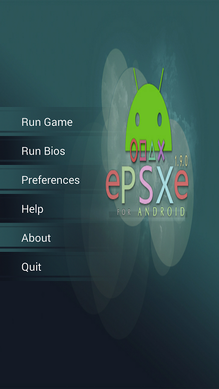 Screenshot ePSXe for Android APK