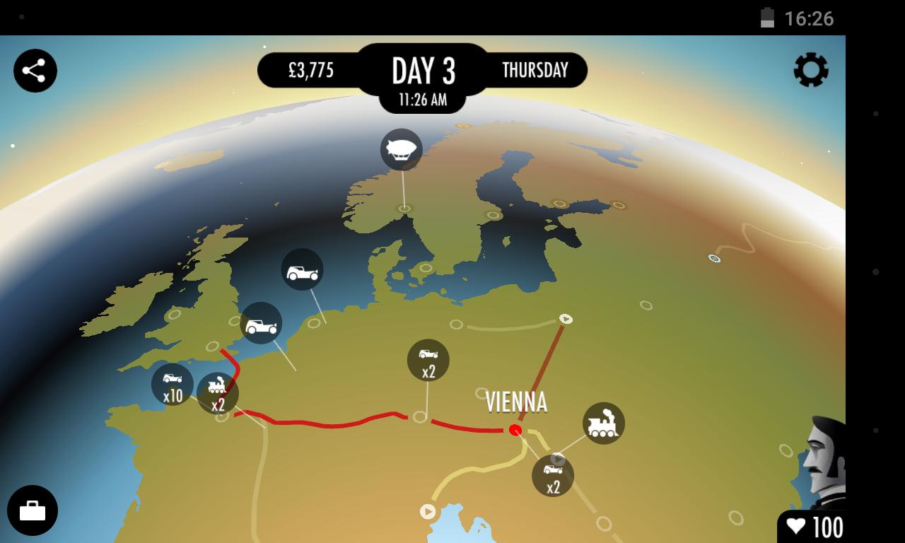 Screenshot 80 Days APK