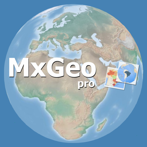 World atlas & world map MxGeo Pro