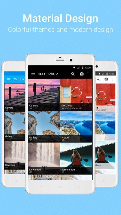Screenshot QuickPic Gallery - with Google Cloud support APK