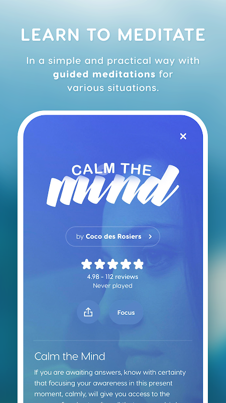 Screenshot Zen - Relax and Meditations APK