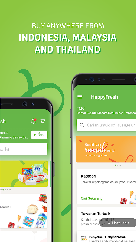 HappyFresh – Groceries, Shop Online at Supermarket The App Store android Code Lads