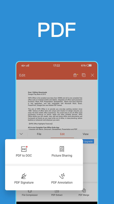 WPS Office + PDF Download | The App Store
