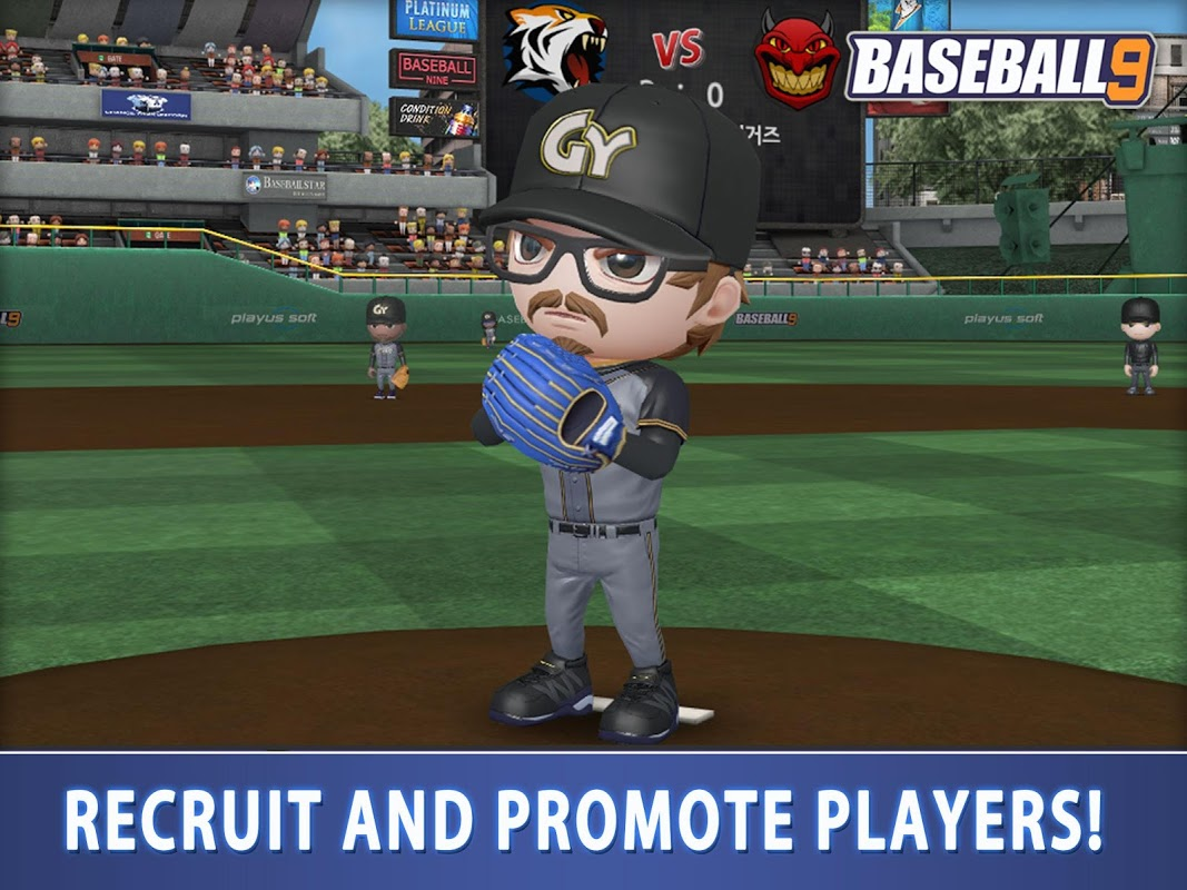 Screenshot BASEBALL 9 APK