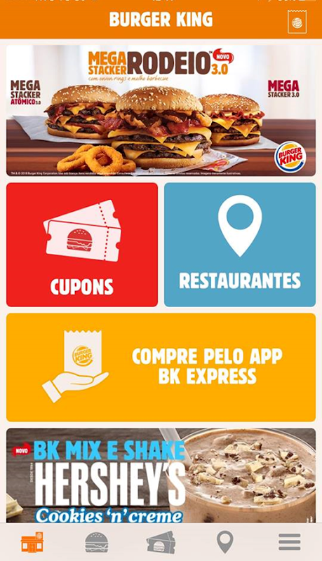 Burger King Brasil The App Store android Code Lads