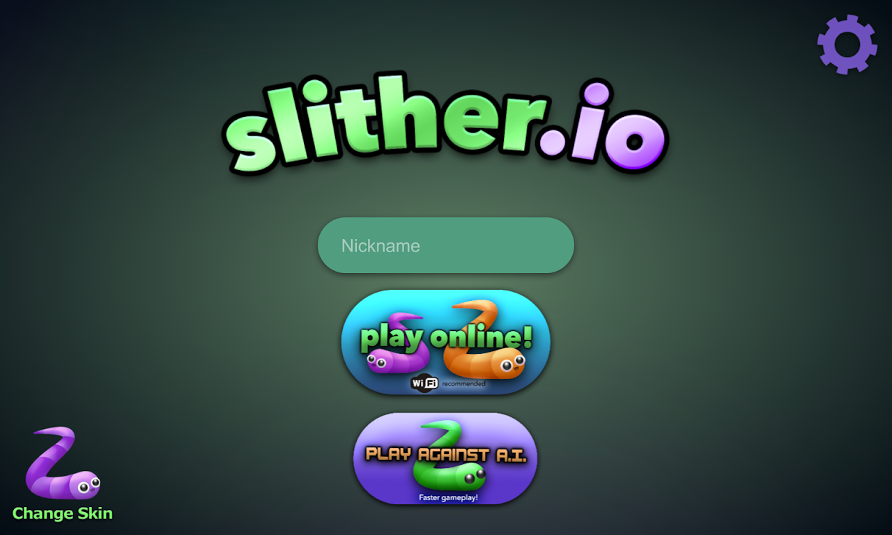 Screenshot slither.io APK