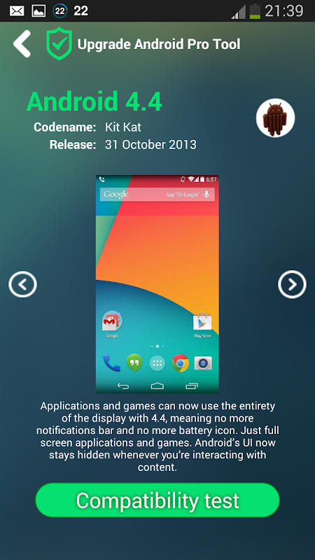 Screenshot Upgrade for Android Pro Tool APK