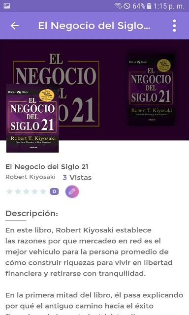 Screenshot E-BookDroid APK