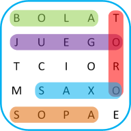 Word Search Games in Spanish