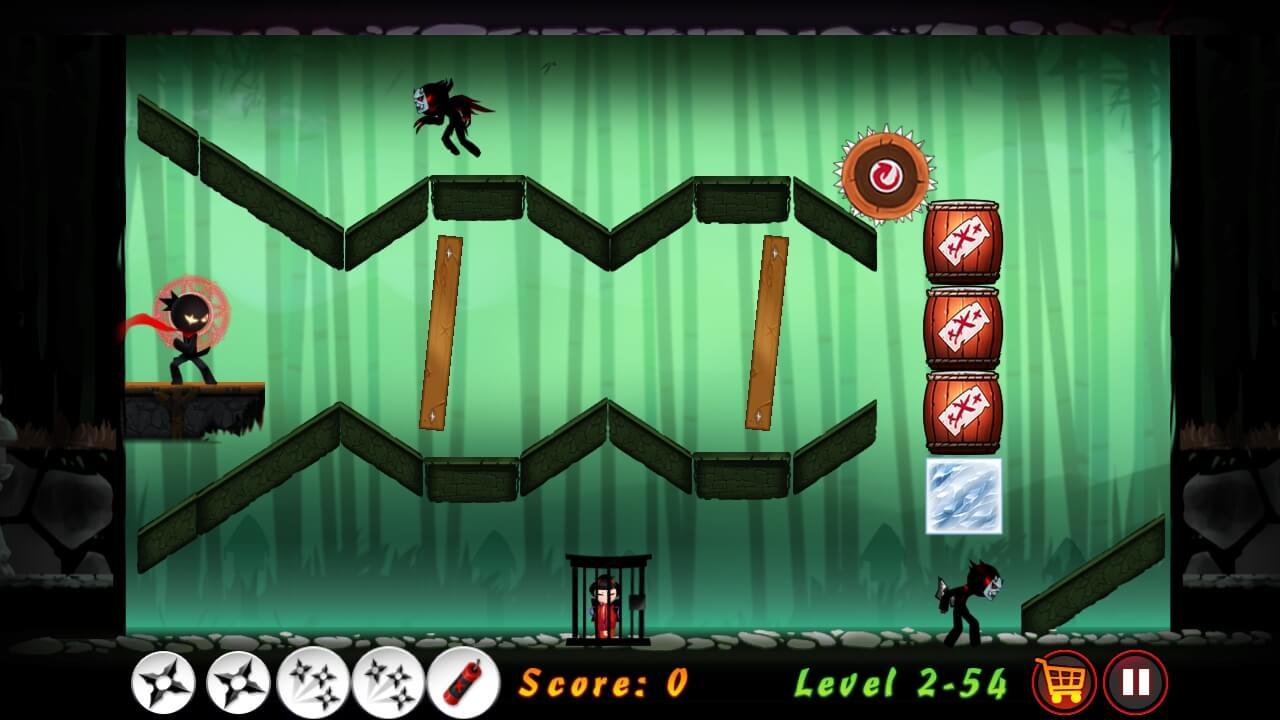 Screenshot Stickman Ninja Warriors APK