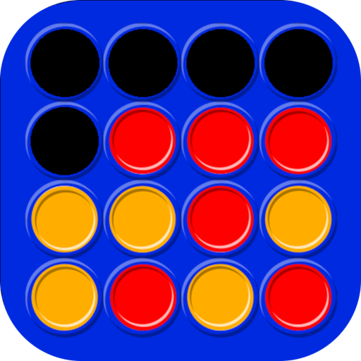 Connect 4 in a row - Board game for 2 players