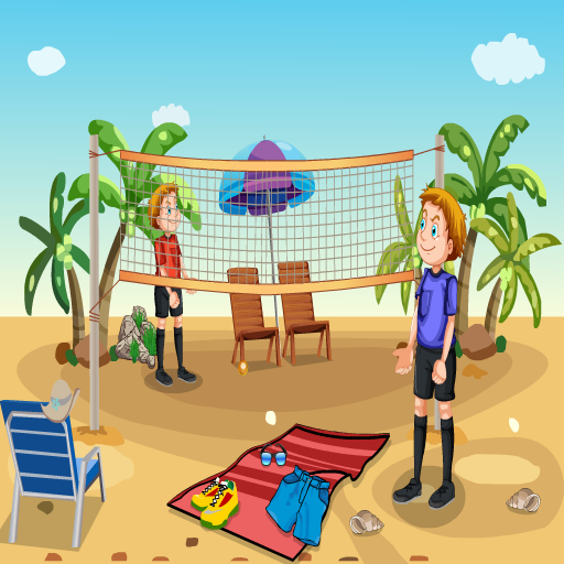 Find The Beach Volleyball