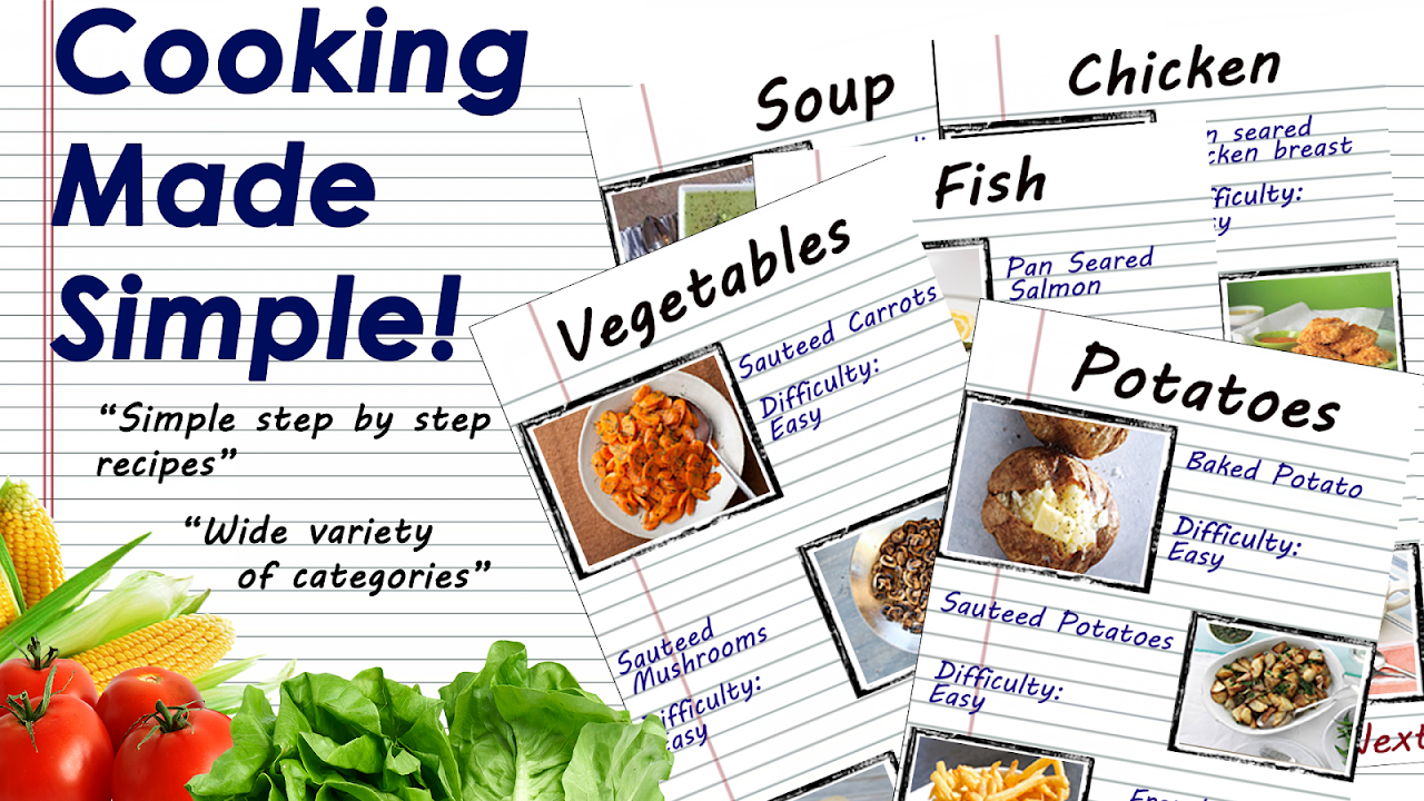 Screenshot Simply Cooking: Learn to cook! APK