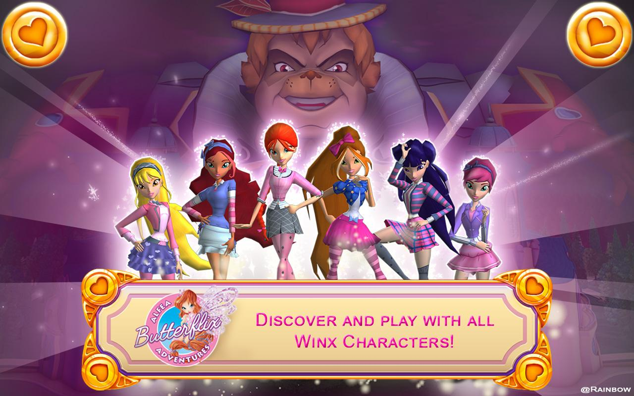 Winx: Butterflix Adventures The App Store
