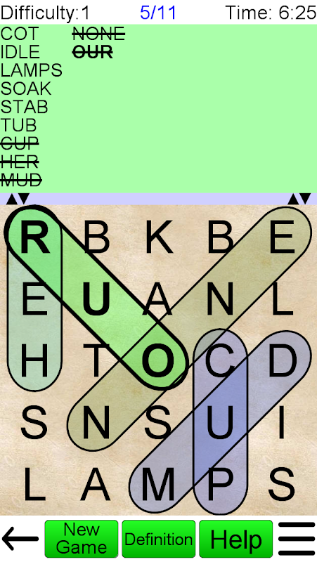 Screenshot Word Search Ultimate APK