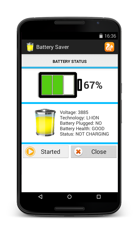 Screenshot Battery Saver for Android Free APK