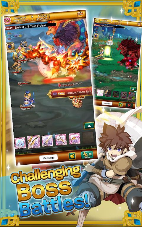 Screenshot Logres: Japanese RPG APK