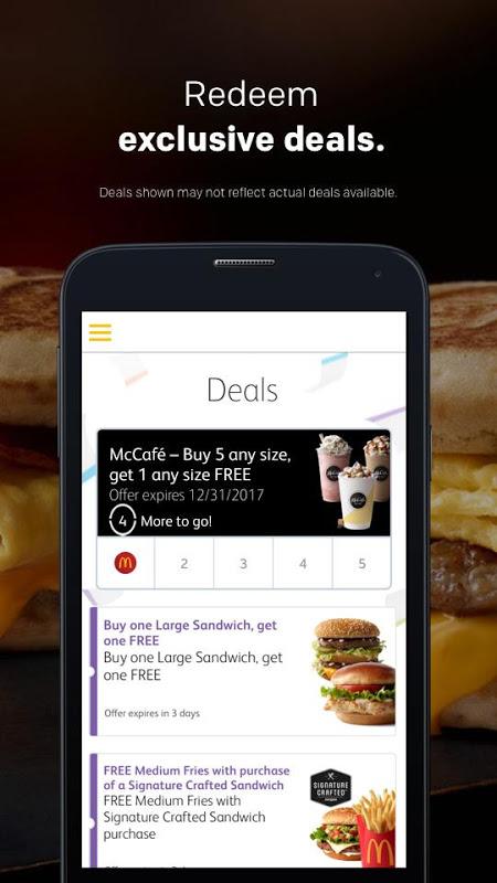 Screenshot McDonald's APK