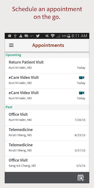 Screenshot Stanford Health Care MyHealth APK