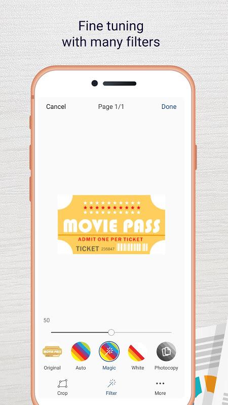 Screenshot Easy Scanner - Camera to signed PDF APK