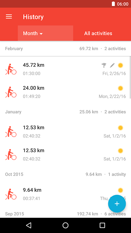 Runtastic Road Bike Tracker The App Store android Code Lads