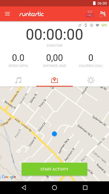 Runtastic Road Bike Tracker The App Store