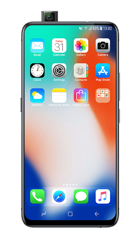 Launcher iOS 13 The App Store