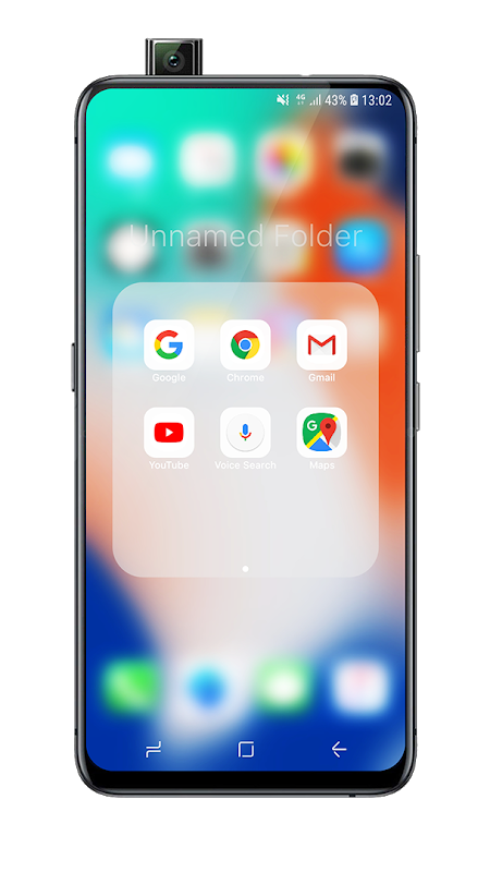 Launcher iOS 13 The App Store android Code Lads
