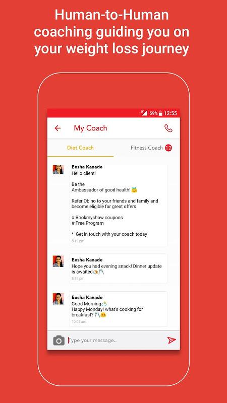 Screenshot Health & Weight Loss Coach APK