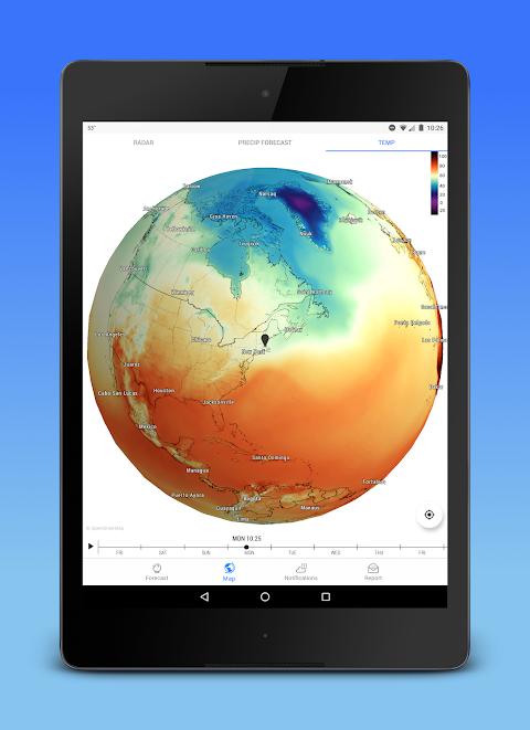 Screenshot Dark Sky - Hyperlocal Weather APK