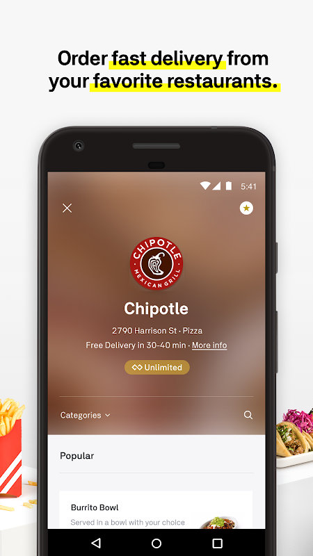 Postmates Food Delivery: Order Eats & Alcohol The App Store android Code Lads