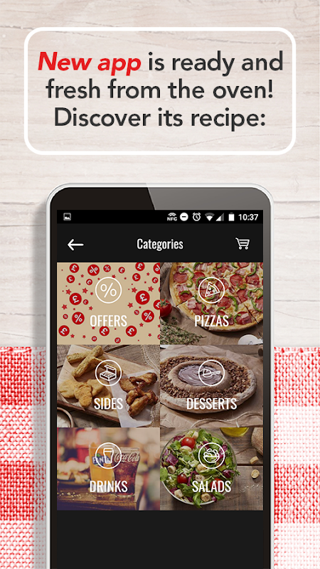 Telepizza Food and pizza delivery The App Store