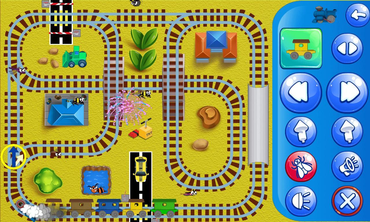 Screenshot Trains for kids APK