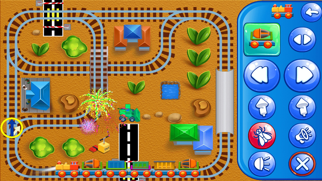 Screenshot Trains for kids APK