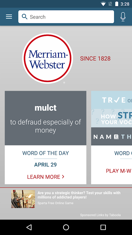 Dictionary - Merriam-Webster The App Store