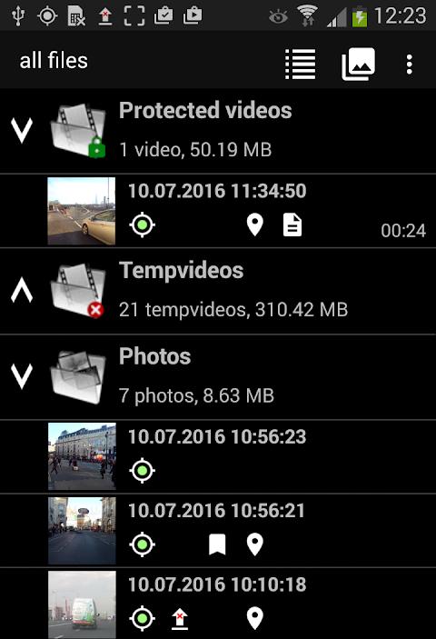 Screenshot DailyRoads Voyager Pro APK