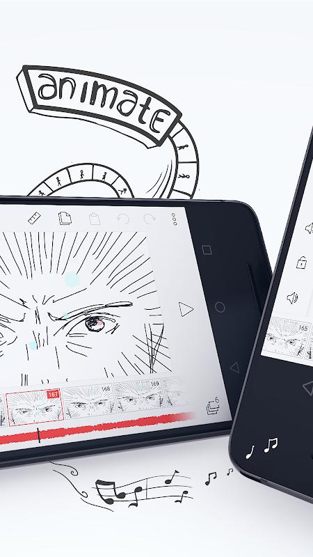 Screenshot FlipaClip - Cartoon animation APK
