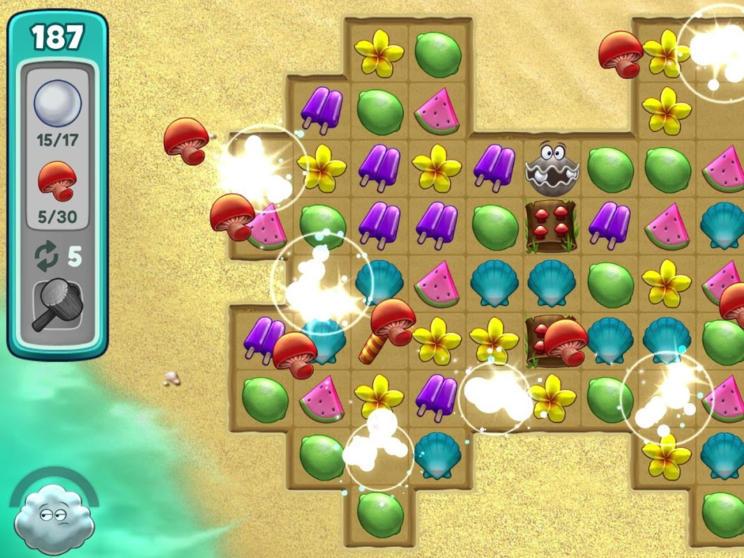 Screenshot Animal Cove: Solve Puzzles & Design Your Island APK