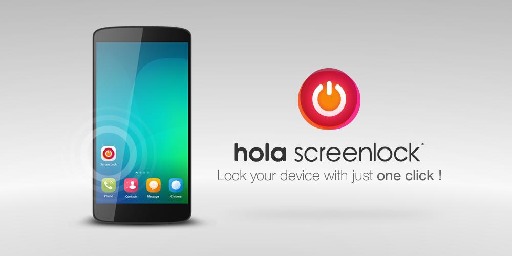 Hola Screen Lock The App Store