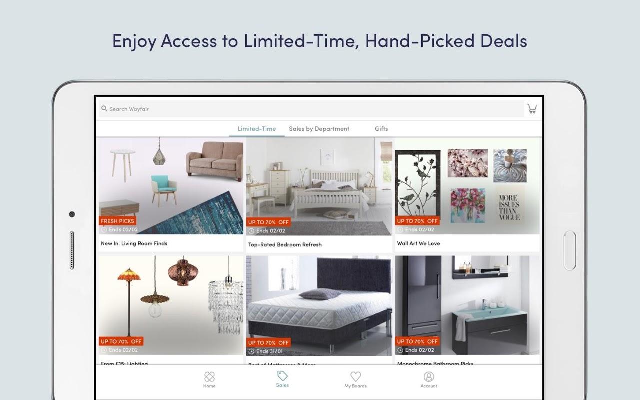 Screenshot Wayfair - Furniture & Decor APK