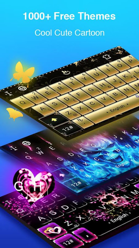 Screenshot TouchPal Keyboard for Android Go APK
