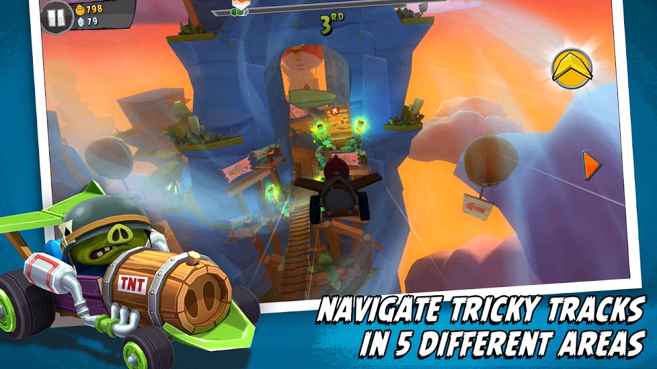 Screenshot Angry Birds Go! APK
