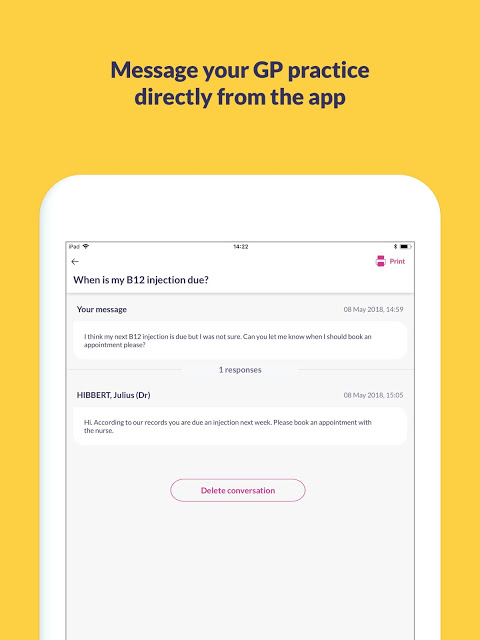 Screenshot Patient Access APK